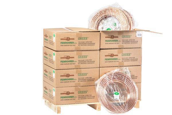 rotoli rame condizionamento refrigerazione green