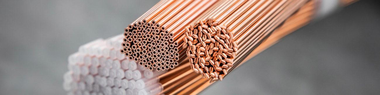 tubo capillare rame industriale